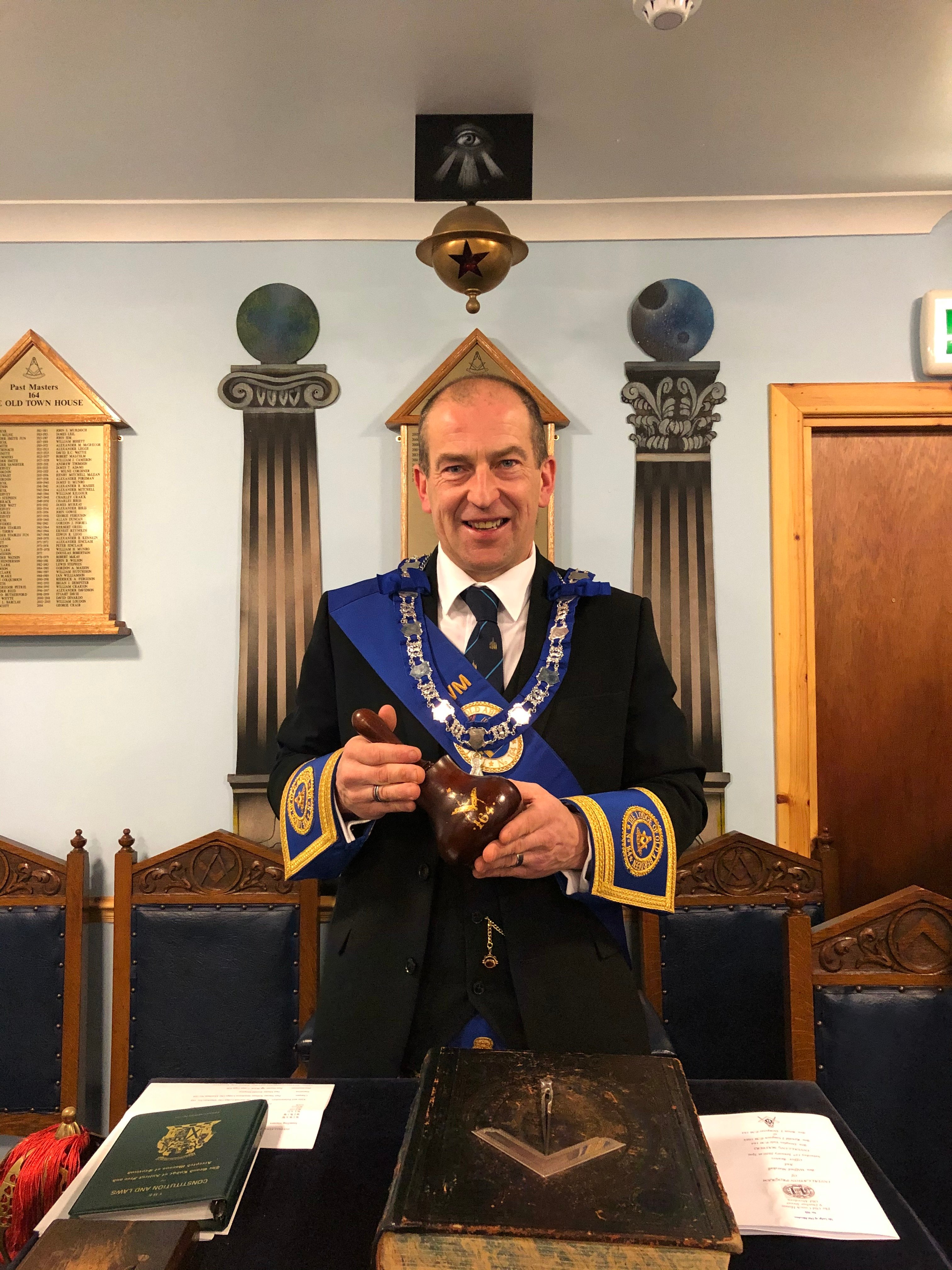 The Right Worshipful Master Bro. Jim Moir